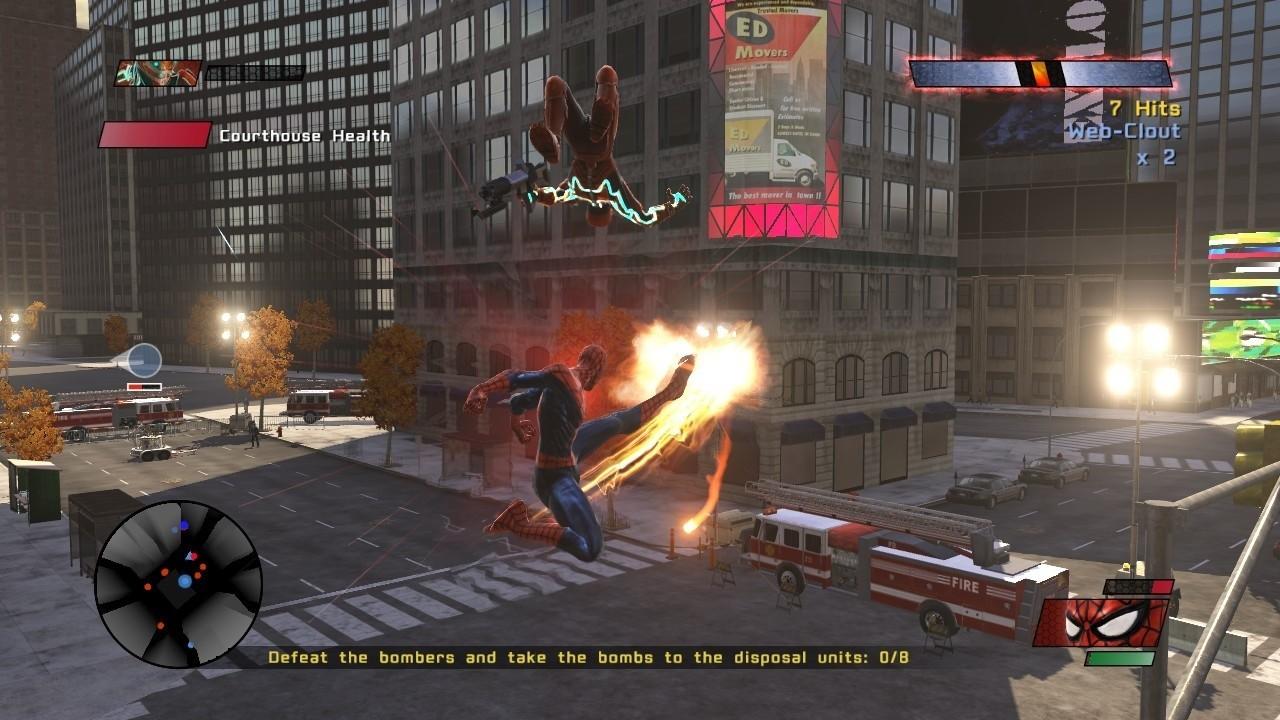 The amazing spider man jeux video fond ecran wallpaper 7 - Les jeux de spiderman 4 ...