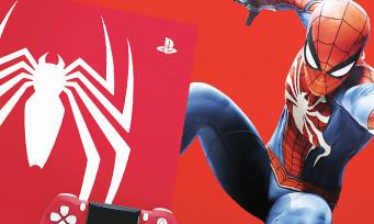 Spider-Man : les PS4 Pro et Slim collector se dévoilent en vidéo