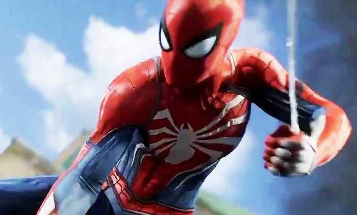spider man ps4 du gameplay in dit et un peter parker plus g. Black Bedroom Furniture Sets. Home Design Ideas