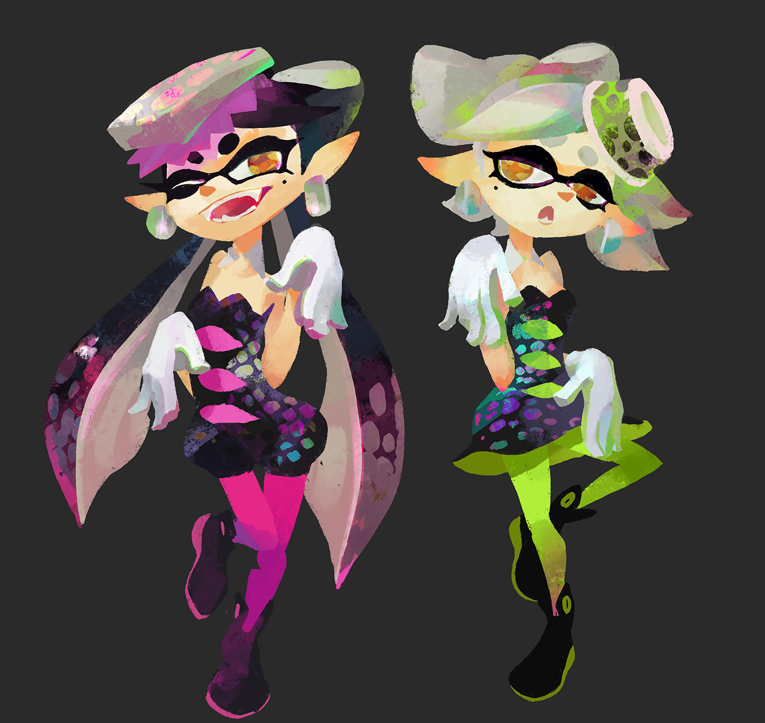 Artworks Splatoon