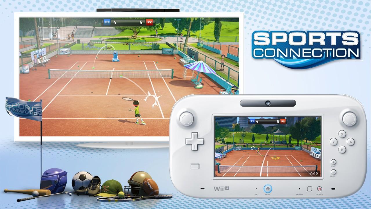 Wii U Game Trailer : Sports connection trailer gamescom