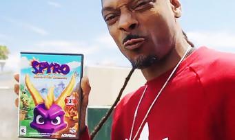 Spyro Reignited Trilogy : une vidéo improbable avec Snoop Dogg, WTF