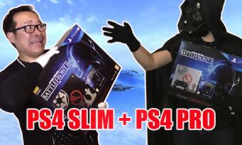 Star Wars Battlefront 2 : notre unboxing des deux PS4 collectors