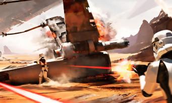 Star Wars Battlefront : 40 secondes au coeur de la Bataille de Jakku