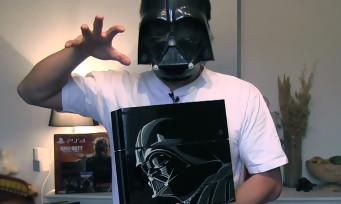 Star Wars Battlefront : notre unboxing de la PS4 collector par Dark Vador