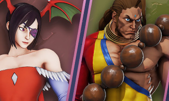 Street Fighter 5 Arcade Edition : les costumes Darkstalkers en images
