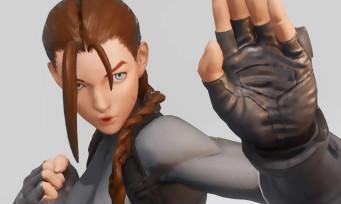 Street Fighter 5 : Cammy devient Lara Croft en vidéo