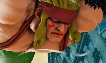 Street Fighter 5 : trailer de gameplay d'Alex