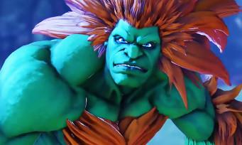 Street Fighter 5 : toutes les attaques de Blanka montrées en vidéo