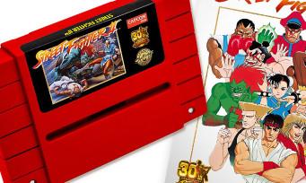 Street Fighter 2 : une cartouche Super NES pour les 30 ans de la série