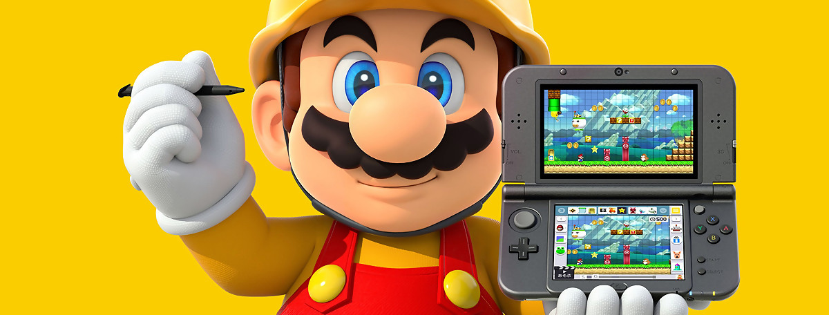 Test Super Mario Maker sur Nintendo 3DS