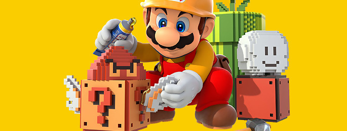 Test Super Mario Maker sur Wii U