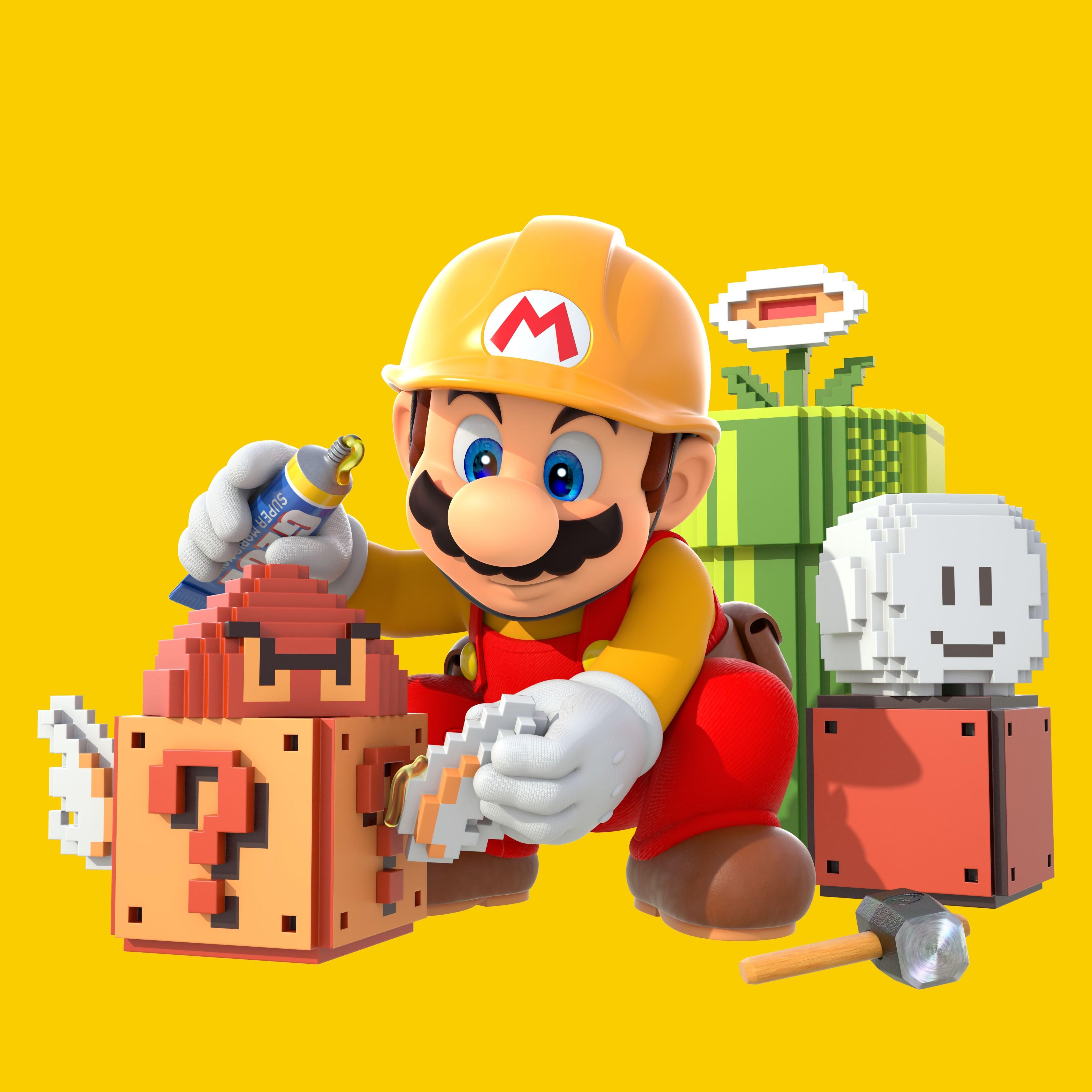 Squishy Super Mario Maker 1 : Artworks Super Mario Maker