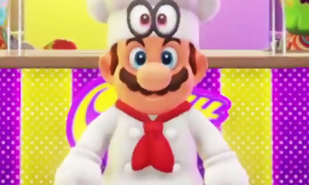 Super Mario Odyssey : 16 min de gameplay sur le monde de la bouffe