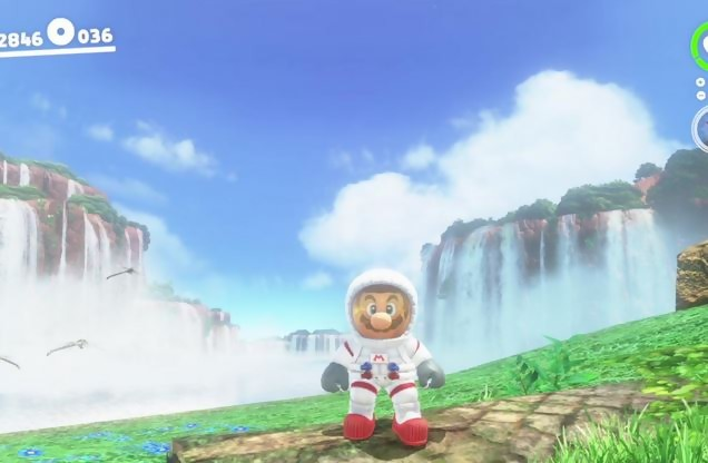 Le demi-million en 3 jours au Japon — Super Mario Odyssey