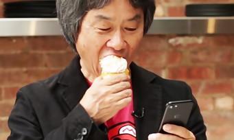 Super Mario Run : une vidéo avec Miyamoto qui joue à l'appli avec une main