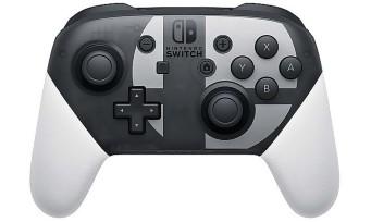 Super Smash Bros. Ultimate : une manette Pro aux couleurs du jeu