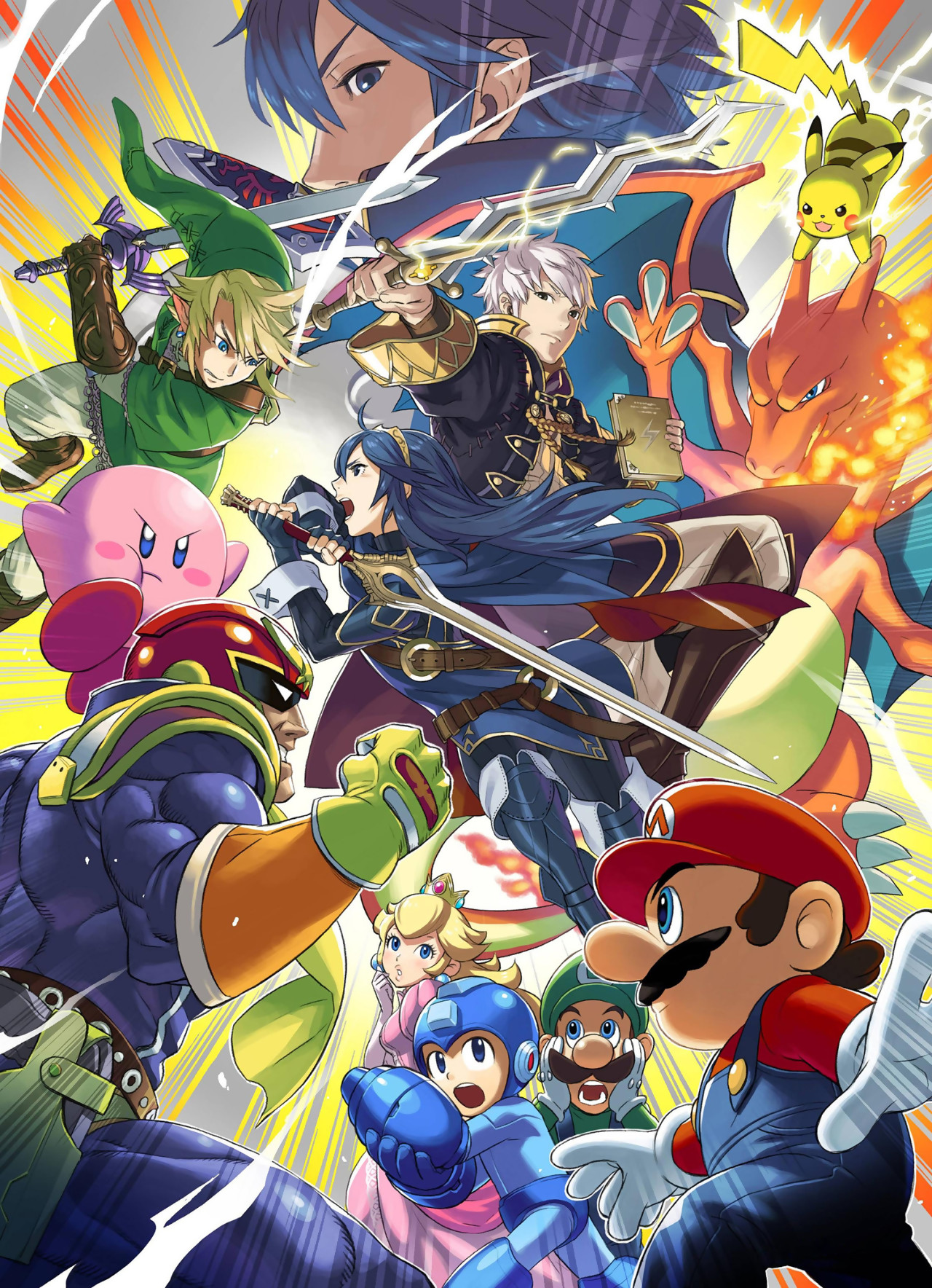 Smash Bros Wii U : Artworks super smash bros for wii u