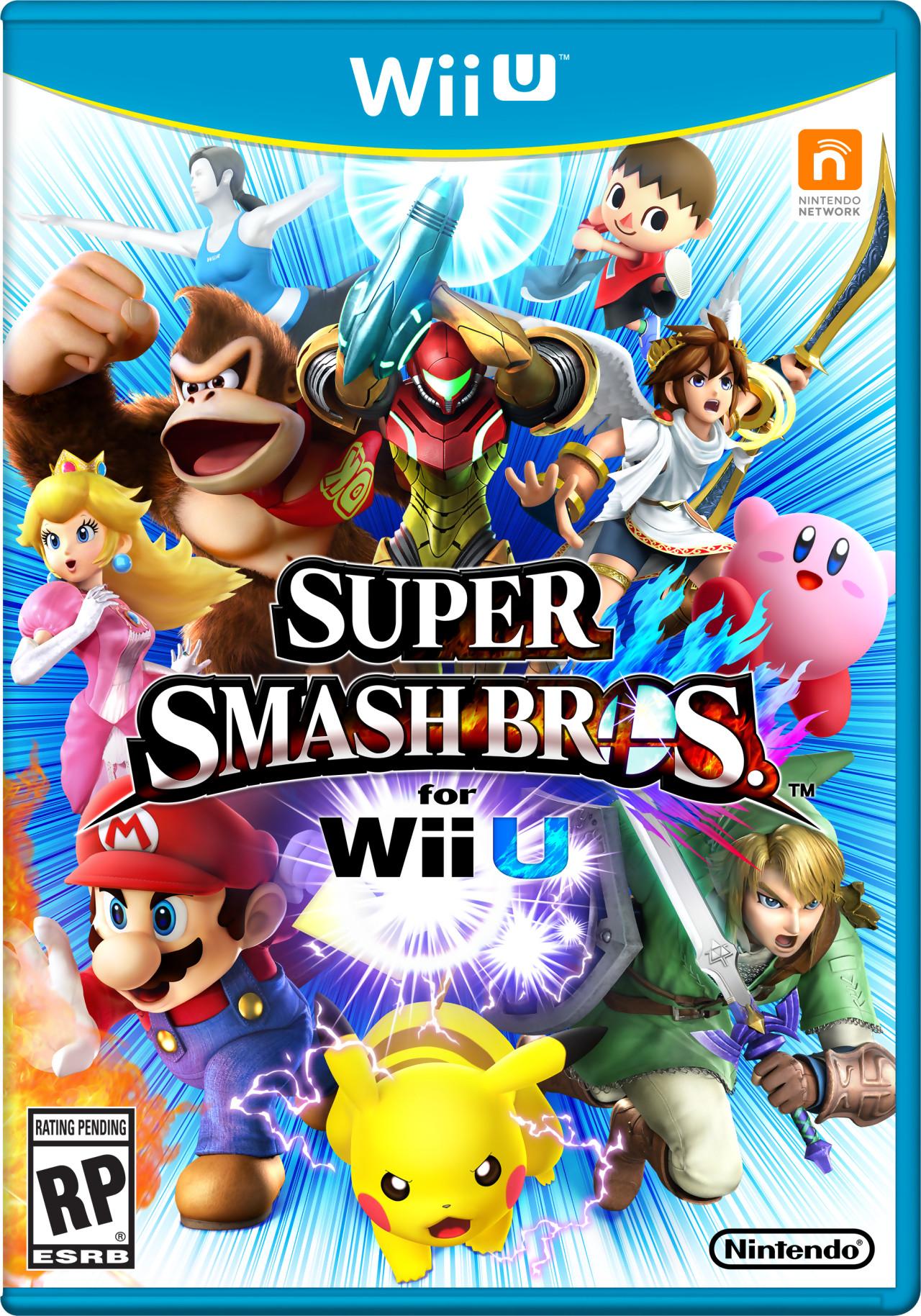 Smash Bros Wii U : Top juegos actuales de wii u levelup