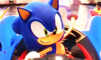 Team Sonic Racing : un trailer de gameplay qui mise tout sur le jeu d'équipe