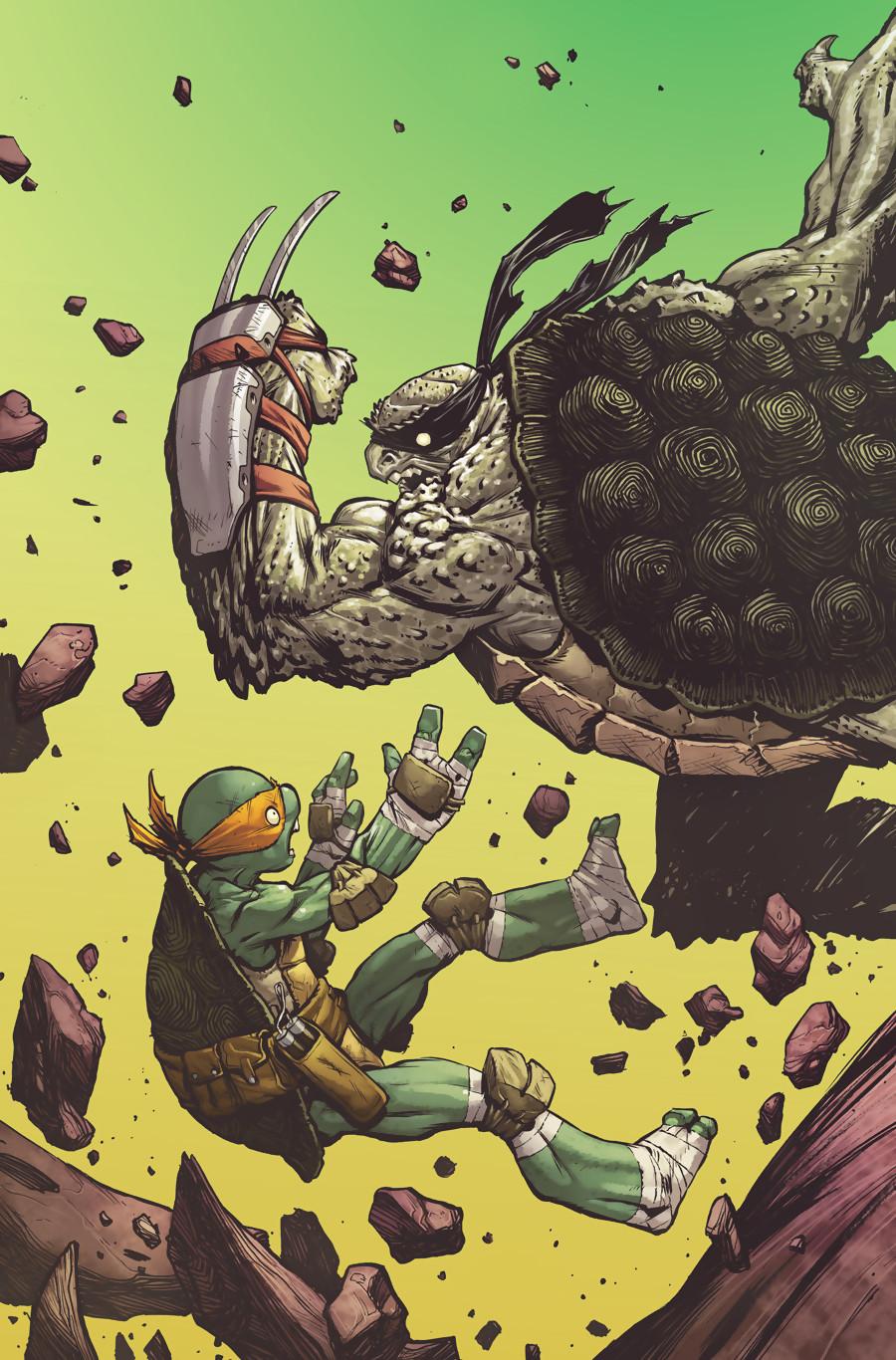 Tortue ninja encore une fuite pour le jeu de platinumgames - Le rat des tortue ninja ...