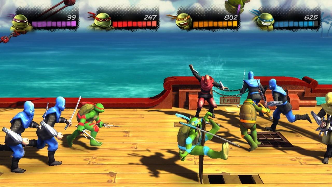Images Teenage Mutant Ninja Turtles : Turtles In Time Re-Shelled