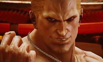 Tekken 7 : toutes les attaques de Geese Howard en vidéo
