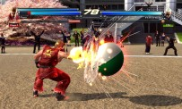 "Le mode ""Tekken Ball"" en action"
