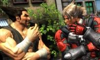 Lars et Heihachi prêts à partir au combat