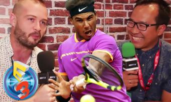 Tennis World Tour : le jeu est bien à l'E3 2017, notre interview avec un ancien