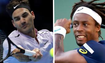 Tennis World Tour : une vidéo de gameplay avec Federer et Monfils