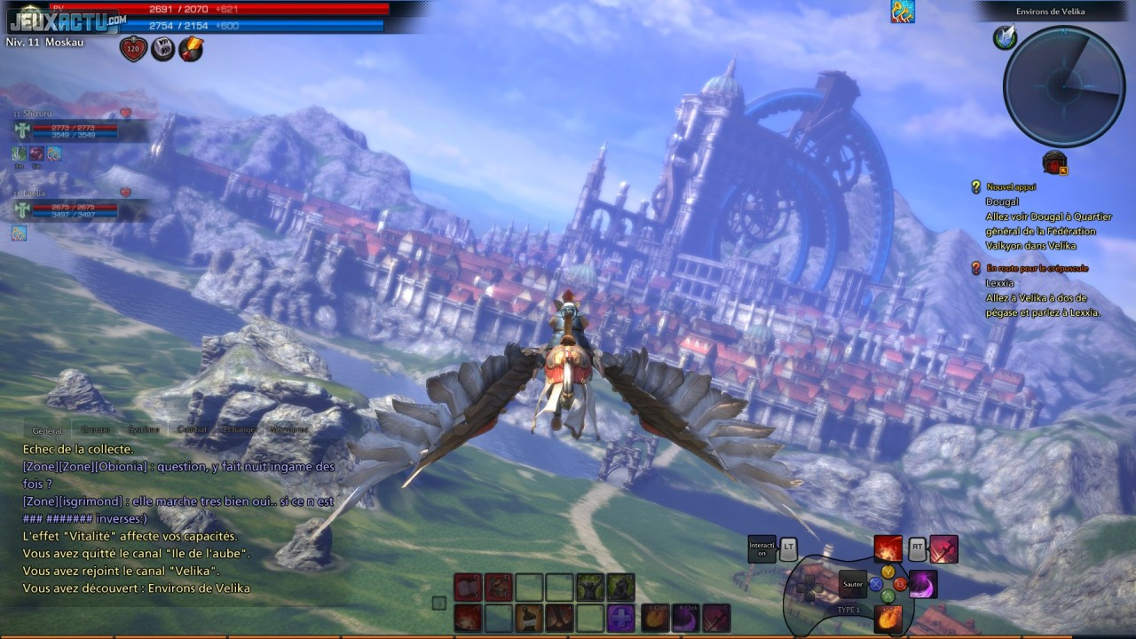 Test tera pc for Online 3d