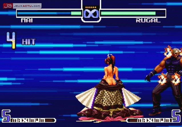 Test The King Of Fighters 2002