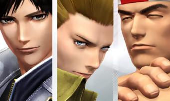 KOF XIV : une vidéo pour la Team Japan avec le nouveau logo de SNK