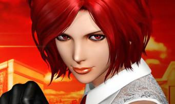 The King of Fighters XIV : un nouveau trailer avec Vanessa