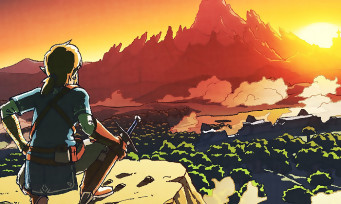 Zelda Breath of the Wild : la map est impressionnante de gigantisme, voici une v
