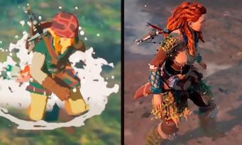 Quand Zelda met à l'amende Horizon dans un comparatif vidéo