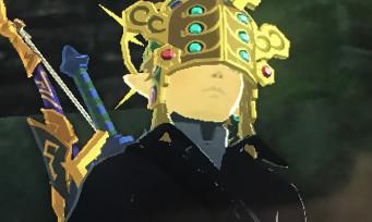 Zelda Breath of the Wild : voici la soluce pour récupérer le Masque de Tonnerre anti-foudre !