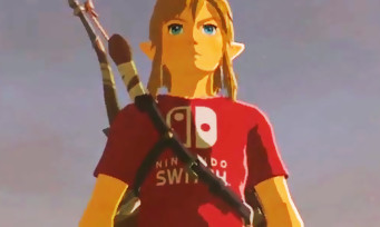 Zelda Breath of the Wild : la soluce pour avoir le t-shirt Nintendo Switch