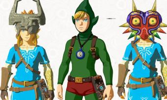Zelda Breath of the Wild : de nouveaux costumes dans le 1er DLC