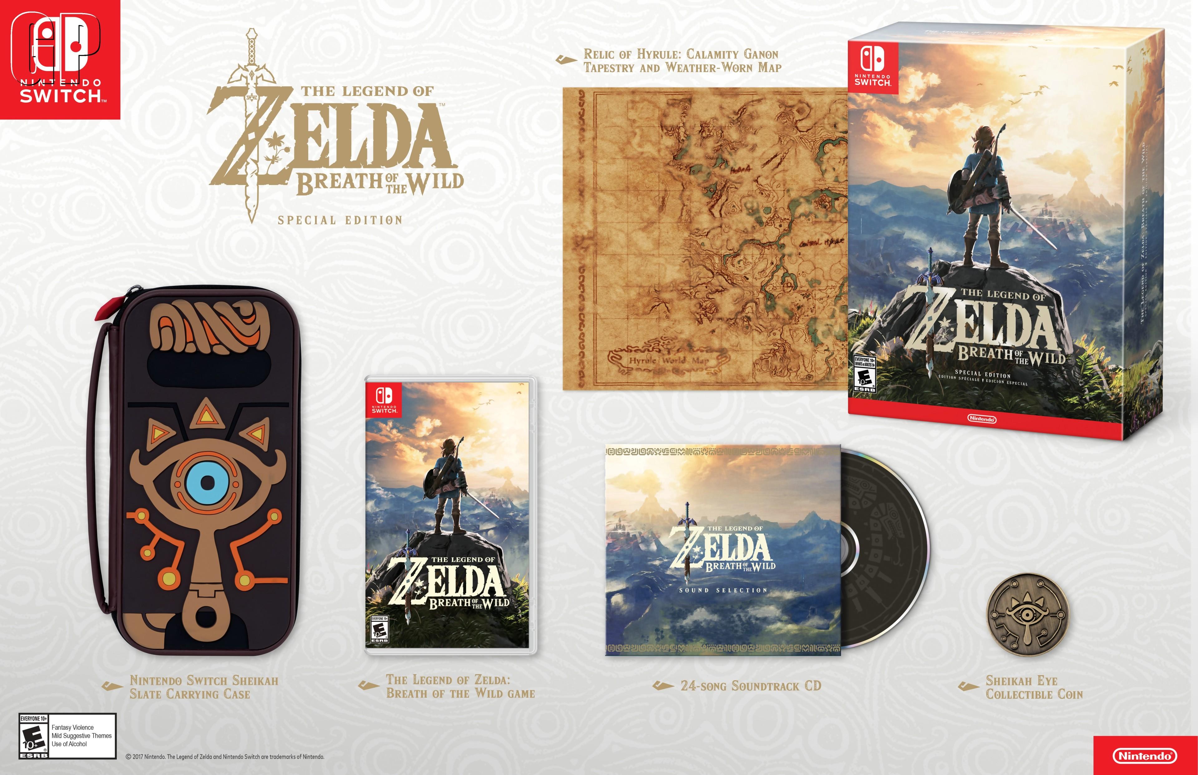 Zelda breath of the wild un collector magnifique avec l for Housse nintendo switch zelda