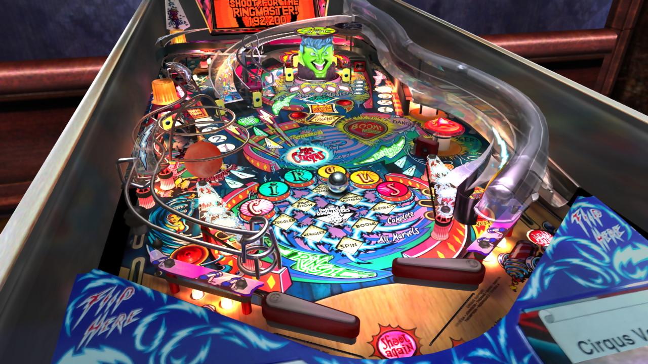 Visual Pinball Tables