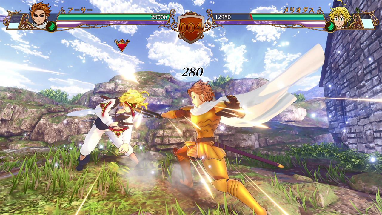 The Seven Deadly Sins PS4 : toutes les images du jeu