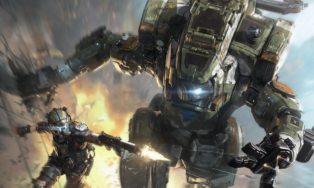Titanfall 2 chambre Call of Duty Infinite Warfare sur Twitter