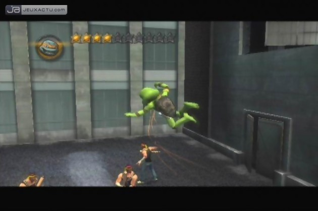 Test TMNT : Les Tortues Ninja Sur PlayStation 2