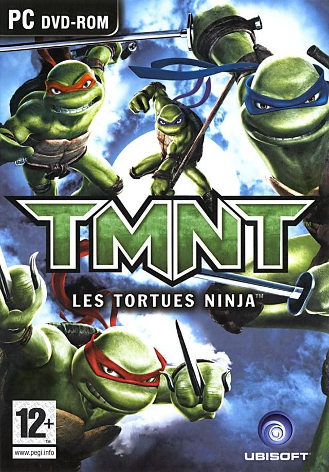 Tmnt cowabunga sur ds et pc - Le nom des tortue ninja ...