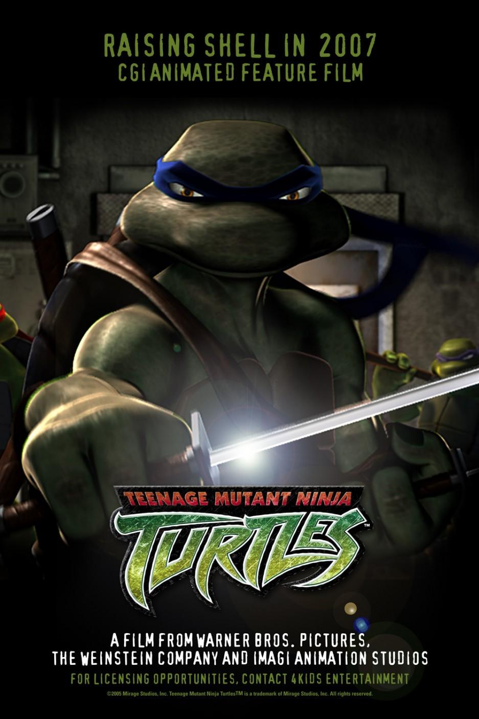 Tmnt les tortues ninja - Les nom des tortues ninja ...