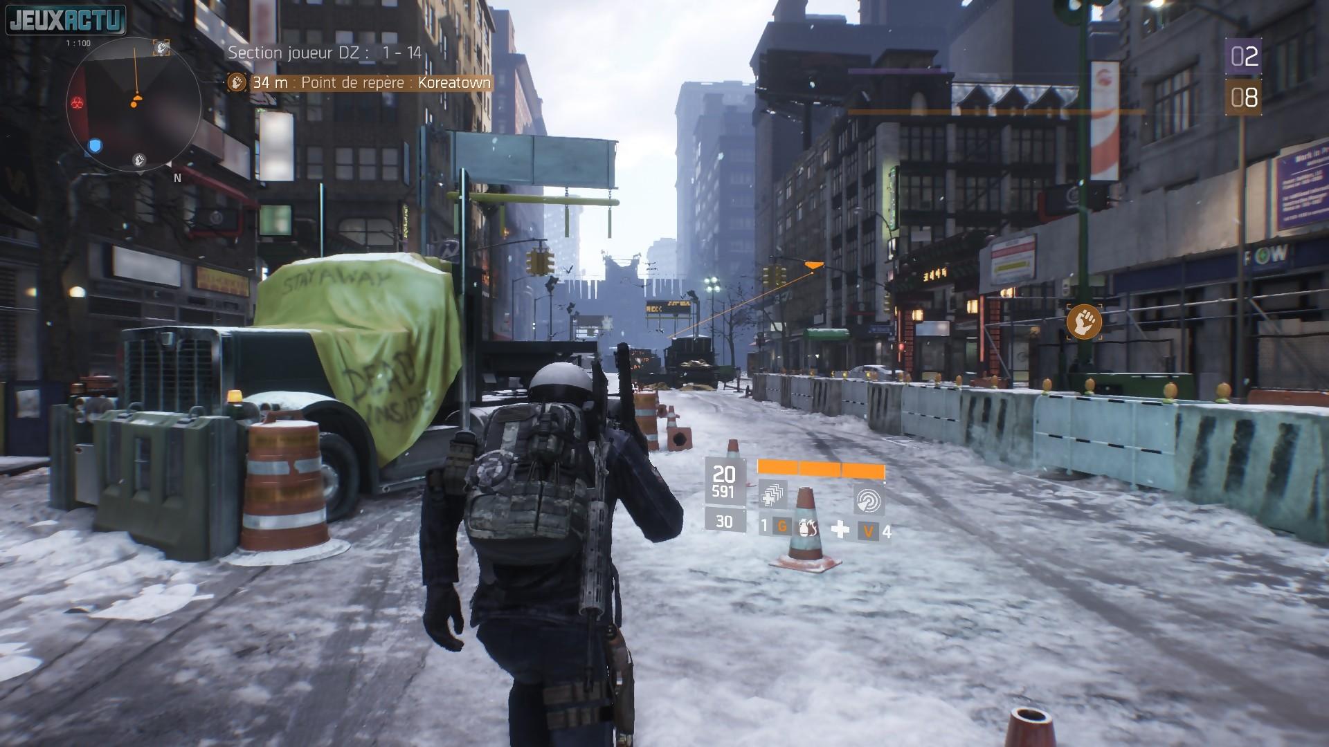 Fabuleux Test The Division sur PS4 et Xbox One DB55