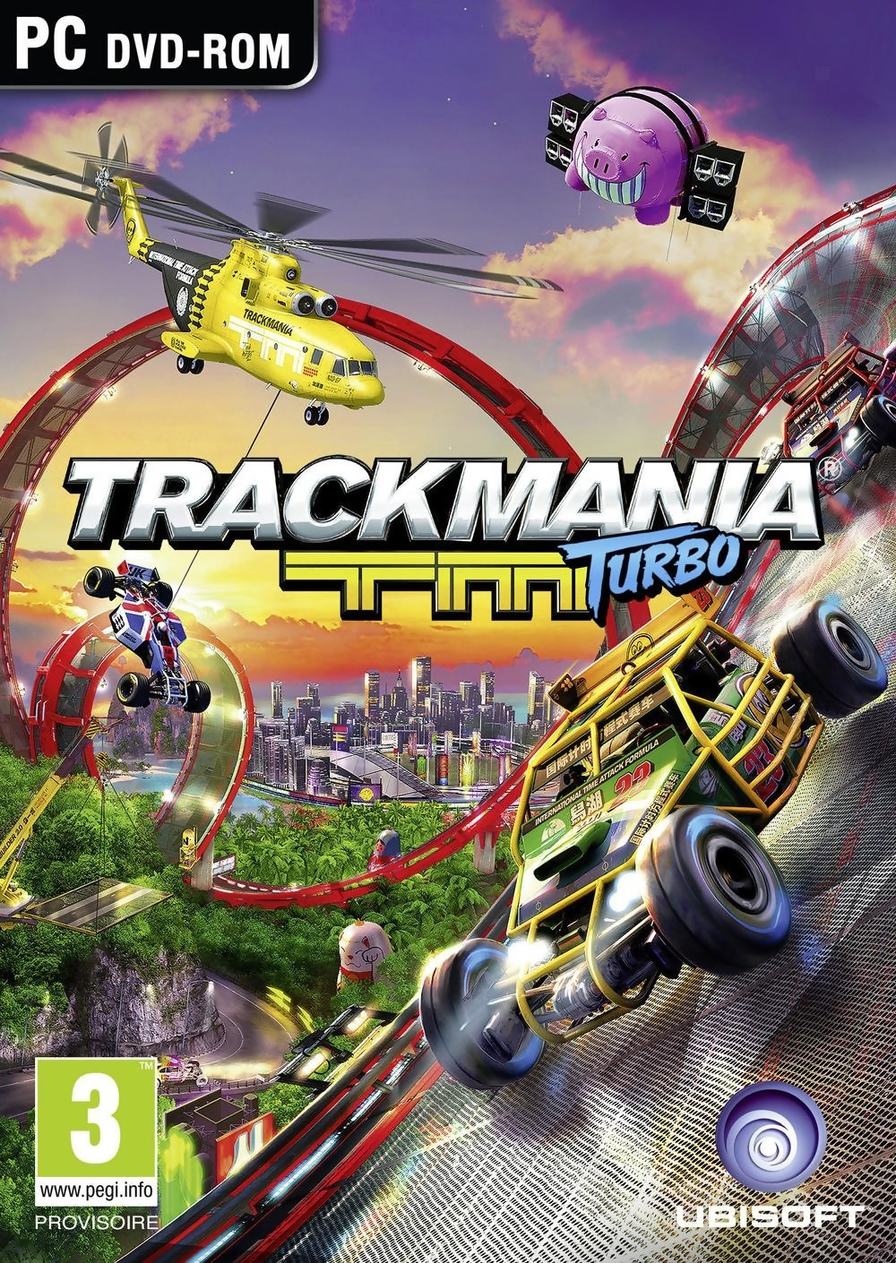 test trackmania turbo sur ps4 et xbox one. Black Bedroom Furniture Sets. Home Design Ideas