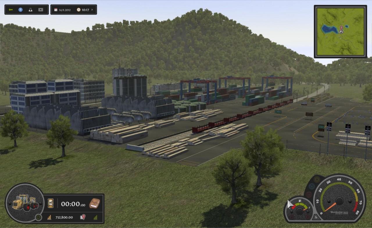 Travaux Forestiers Simulator 2013 : images du premier jeu de bûcheron